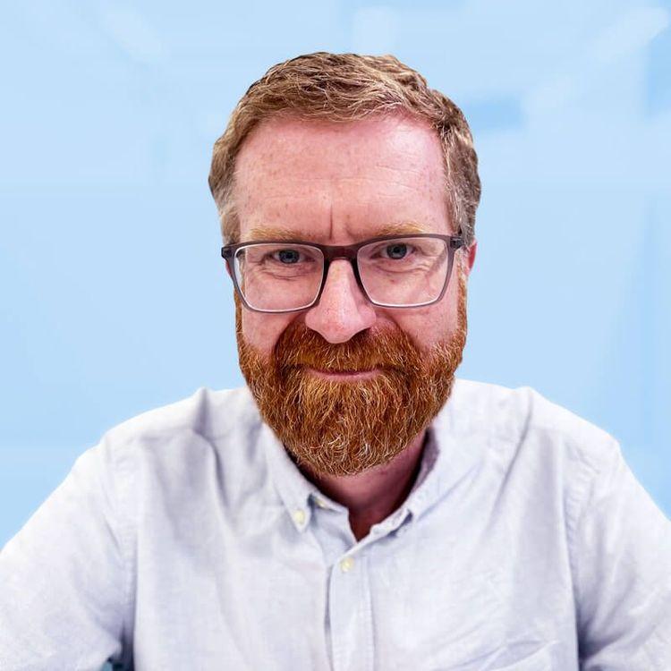 Portrait of Gareth Kitching